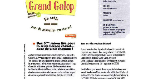 article la revue du jouet grand galop
