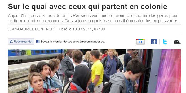 article le parisien telligo