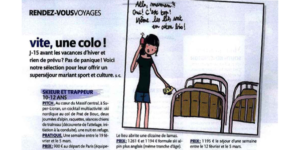 article madame figaro colonie