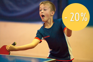 Stage enfant ping pong pas cher