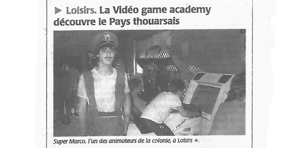 article presse video game academy